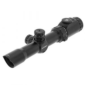 Leapers Rifle Scope 1 Leapers Inc, UTG 1-8x28mm 30mm MRC Scope, IE, BG4 Reticle, with ACCU-SYNC, Black (SCP3-18IEBG4)