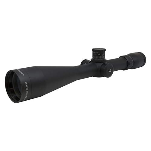SIGHTRON Rifle Scope 1 SIGHTRON, SIII Long Range Riflescope, 6-24x50mm, 30mm Tube, Zero Stop Side Focus FFP Plane MOA-2 Reticle, Black