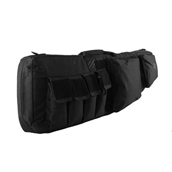 K-Cliffs Tactical Backpack 6 Tactical Rifle Backpack Gun Storage Case Double Long Rifles Carrying Bag   Lockable Zippers   Water Resistance Black