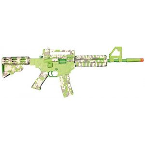 Paper Shooters Air Rifle 1 Paper Shooters Lime Green Spitball Blaster Kit air rifle