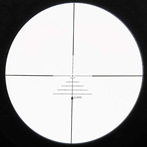SECOZOOM Rifle Scope 3 SECOZOOM Optics 4-50x75mm New Distance Measuring BOS Reticle Optical Sight Big Wide Field of View Military Riflescope Hunting Tactical Optical Sights .50BMG w 35mm mounts and Sunshade