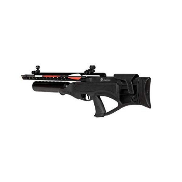 Wearable4U Air Rifle 6 Hatsan Harpoon Arrow Air Rifle with Included Carbon Fiber Arrows and Wearable4U 100x Paper Targets Bundle