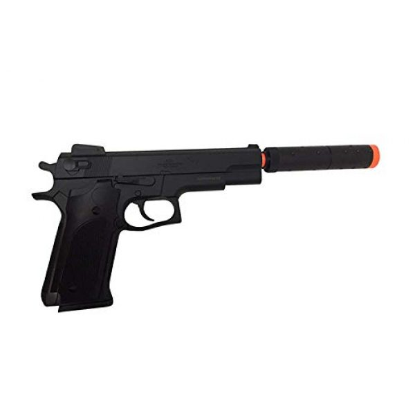 Double Eagle Airsoft Pistol 3 Double Eagle M24 Airsoft Spring Pistol - Powerful 300 FPS Spring Action Airsoft Gun Great Entry Level Airsoft Gun for Fun Fast Clean Inexpensive and Easily maintained
