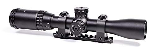 Hammers Rifle Scope 1 Hammers 2-7x32 Rifle Scope Set Kit with Mount Base for Marlin 336 1894 1895 Rossi Grande Lever Action