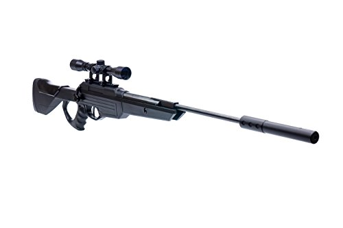 Bear River Air Rifle 1 Bear River TPR 1300 Suppressed Hunting Air Rifle - .177 Airgun - Pellet Gun with Scope and Silencer Included