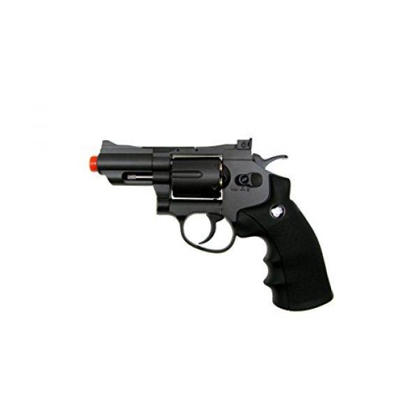 TSD Tactical Airsoft Pistol 3 TSD tactical - sdcnr708bb - tsd/wg model 708 co2 gas black revolver(Airsoft Gun)