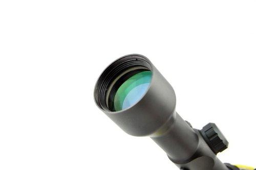 Visionking Rifle Scope 3 Visionking 1.5-6x42 Rifle Scope 30 mm Illuminated Red/Gree Riflescopes Sight Color Black