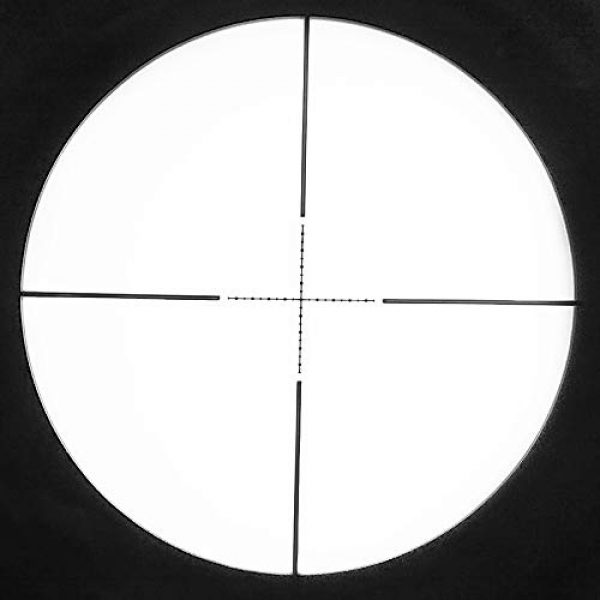 SECOZOOM Rifle Scope 7 SECOZOOM 4-50x75 ED Lens Rifle Scope New Mil Dot Reticle SF Extra-Low Dispersion Glass Optically Flawless Aspheric Apochromatic Lenses Riflescope W 35mm Mounts & Sunshade