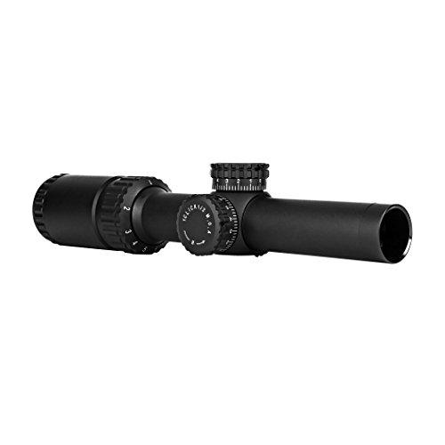 TRINITY Rifle Scope 2 Trinity Force Legacy 1-6x24 Scope, Black, P4 Sniper Reticle, SD3S1624B