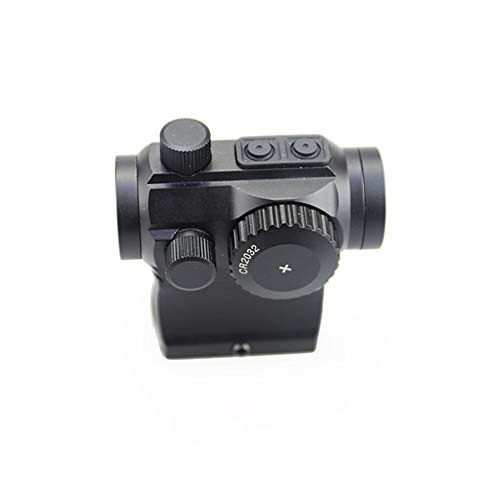 DJym Rifle Scope 2 DJym in The Red Dot Sight, M1 Hollow-Height Bracket Applies to Rifle Scopes, Waterproof and Shockproof Anti-Fog Sight