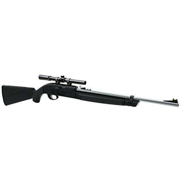 Remington Air Rifle 1 Remington AirMaster 77 AM77X Single-Shot Variable Pump .177-Caliber Pellet And BB Air Rifle With Scope, Black