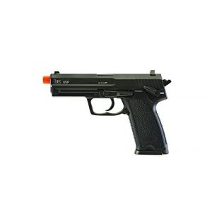 Elite Force Airsoft Pistol 1 Elite Force HK Heckler & Koch USP 6mm BB Pistol Airsoft Gun, Blowback Action, Black, One Size (2275043)