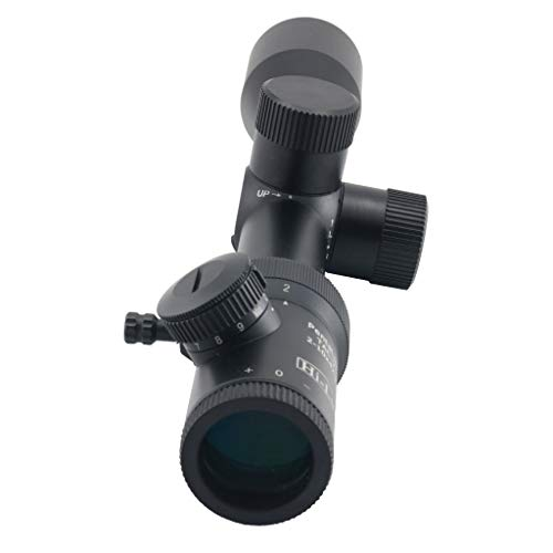 Hi-Lux Optics Rifle Scope 6 Hi-Lux Optics PentaLux Tac-V 2-10 with Illuminated Reticle, Green