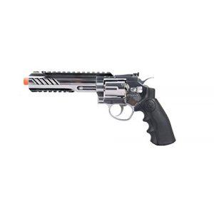 """SRC Airsoft Pistol 1 SRC 6"""" Titan Full Metal CO2 Airsoft Revolver (Silver)"""