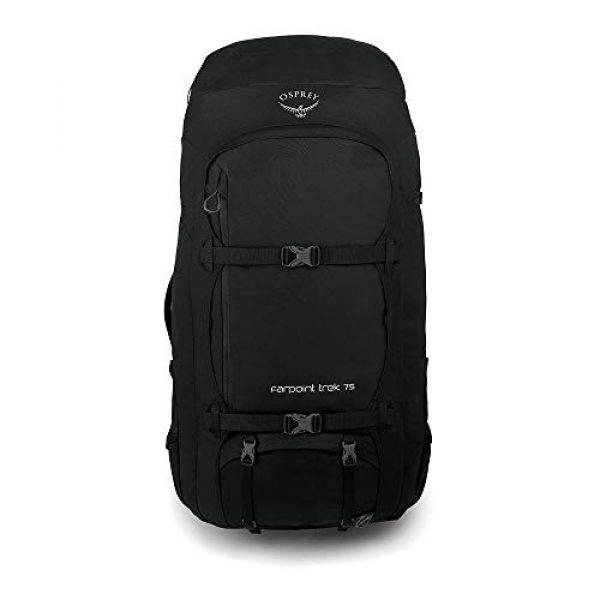 Osprey Tactical Backpack 2 Osprey Farpoint Trek 75 Men's Travel Backpack