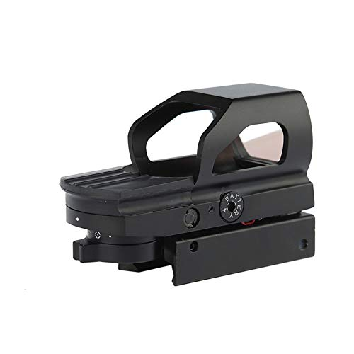 DJym Rifle Scope 5 DJym Red Dot Reflex Sight- Reflex Sight Optic and Substitute for Holographic Red Dot Sights