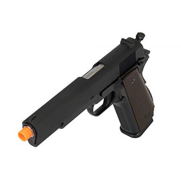 Lancer Tactical Airsoft Pistol 4 Lancer Tactical WE 1911 High Capacity Full Metal Airsoft Gas Blowback Pistol Black 330 FPS