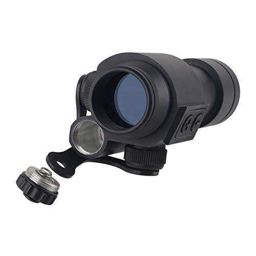 UELEGANS Rifle Scope 2 UELEGANS 1x30 Compact Tactical Hunting Red Dot Sight with cemented Red Film Lens