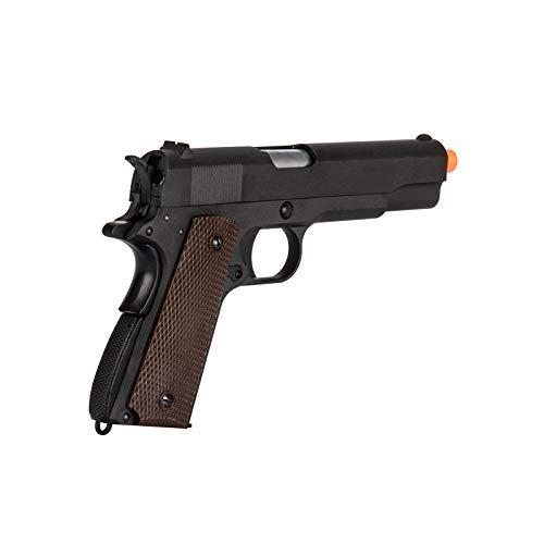 WE Airsoft Pistol 4 WE Tech M1911 Metal GBB Airsoft Pistol CO2 Version Black