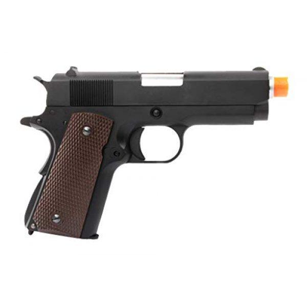 Lancer Tactical Airsoft Pistol 2 Lancer Tactical WE Mini 1911 Version A Full Metal Gas Blowback Pistol Black 290 FPS