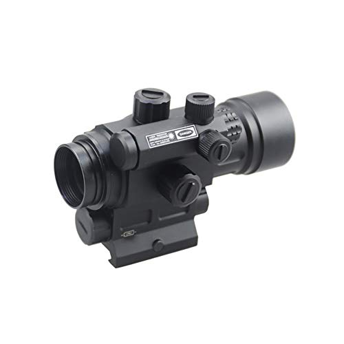 DJym Rifle Scope 6 DJym Advanced Button Red Dot Sight, 1X Waterproof and Anti-Fog Rifle Scope