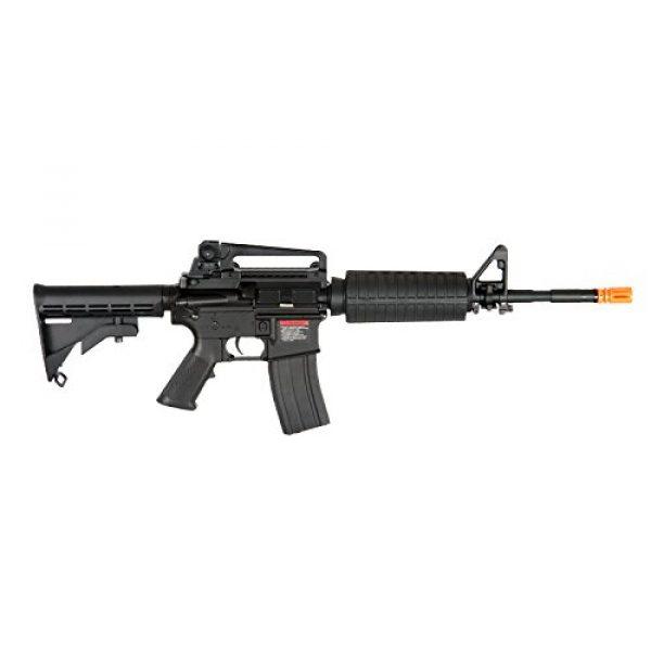 MetalTac Airsoft Rifle 3 MetalTac F6604 Carbine Electric AEG Full Metal Gearbox, Black