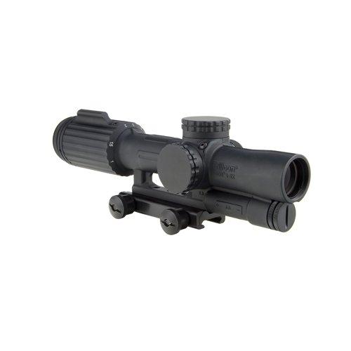 Trijicon Rifle Scope 1 Trijicon VC16-C-1600043 Vcog 1-6x24mm Green Horseshoe Dot/Crosshair Riflescope.223/77 Grains Ballistic Reticle with Thumb Screw Mount, Black