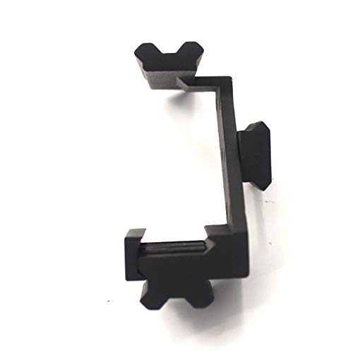 SUISHI Rifle Scope Base 4 SUISHI Metal Tactical Weaver Picatinny Top & Bottom Rail Scope Mount Fits Glock Front Red Dot Laser Sight