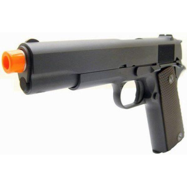 WE Airsoft Pistol 5 WE hi-capa 191 gas blowback full metal - black(Airsoft Gun)