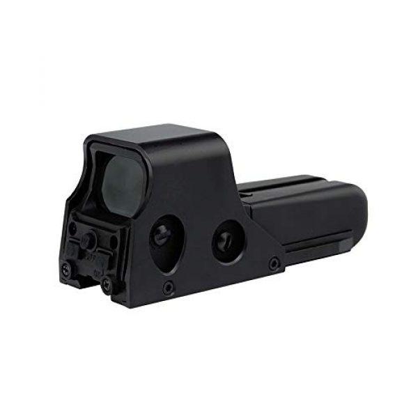 DJym Rifle Scope 2 DJym HD 1X Magnification Red Dot Sight, 22mm Rail Waterproof Shockproof Sight