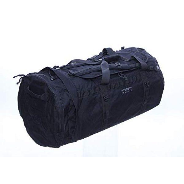 ForceProtector Gear Tactical Backpack 4 Hybrid Deployment Bag, Black