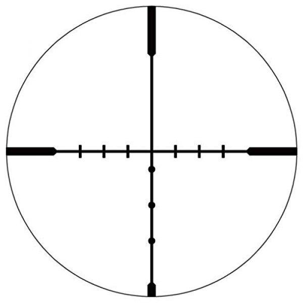 Vector Optics Rifle Scope 6 Vector Optics Hugo 6-24x50 Second Focal Plane (SFP) Riflescope, 25.4mm Tube, 1/4 MOA Per Click Adjustment, Turret Lock System, Free Mount Rings, Lens Caps, 3 Inches Sunshade