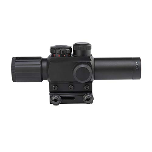 DJym Rifle Scope 3 DJym 4X25 Sight, Universal Sight Hunting Rifle Scope, Waterproof, Anti-Fog and Shockproof