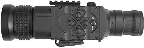AGM Global Vision Rifle Scope 4 AGM 3093456006AN51 Model Anaconda TC50-384 Medium Range Thermal Imaging Clip-On System, 336x256 (60 Hz) Resolution, 50mm Lens, 1x Optical Magnification, Field of View 7.8°x5.9°