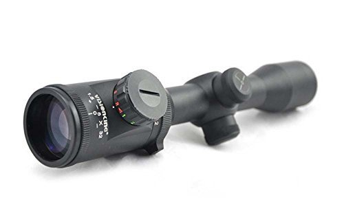 Visionking Rifle Scope 1 Visionking Rifle Scope 1.5-5x32 Riflescope Wide Angle for Hunting Tactical Military