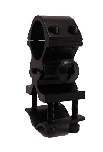 "Tactical Scorpion Gear Rifle Scope Accessory 3 Tactical Scorpion Gear TSG-GMB07A 1"" Aluminum Scope Laser Universal Mount - Black"