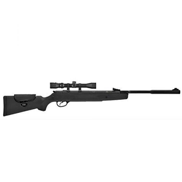 Hatsan Air Rifle 1 Hatsan Model 87 Vortex QuietEnergy.25 Caliber Airgun, Black Synthetic