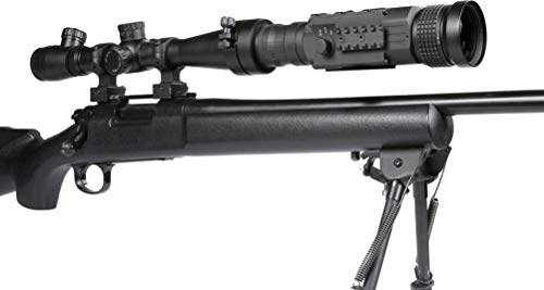 AGM Global Vision Rifle Scope 5 AGM 3093456006AN51 Model Anaconda TC50-384 Medium Range Thermal Imaging Clip-On System, 336x256 (60 Hz) Resolution, 50mm Lens, 1x Optical Magnification, Field of View 7.8°x5.9°