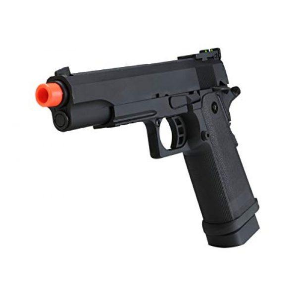 SRC Airsoft Pistol 2 HI-CAPA 5.1 Green Gas Airsoft Pistol Free Speed Loader BBS and Gun Case [Airsoft Blowback]