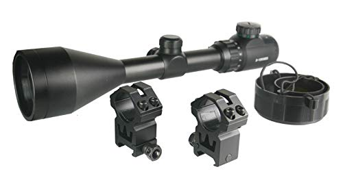 TWP Rifle Scope 2 TWP T3-12x56 Riflescope Rangefinder,Red and Green Illuminated, Heavy Duty Scope Ring Weaver Mount