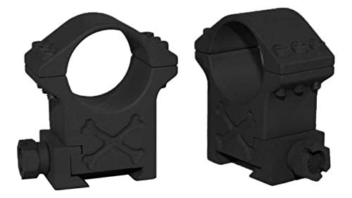 Talley Rifle Scope 1 Talley BAT35X 35mm Tactical Ring (Black Armor) (Extra High) 1.44 Height