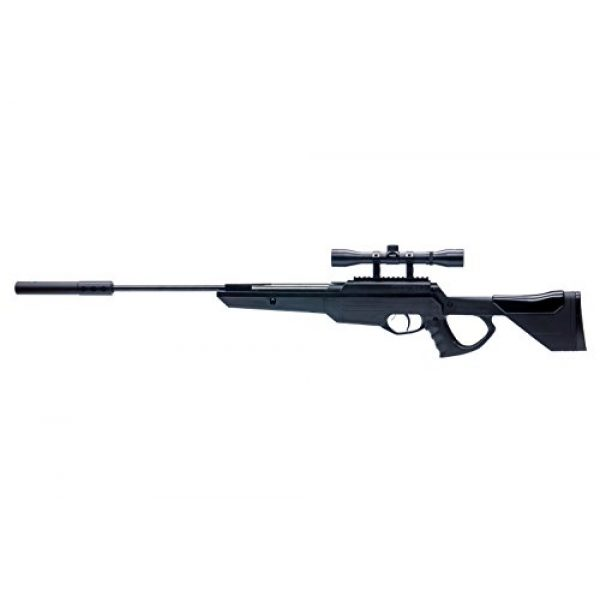 Bear River Air Rifle 4 Bear River TPR 1300 Suppressed Hunting Air Rifle - .177 Airgun - Pellet Gun with Scope and Silencer Included