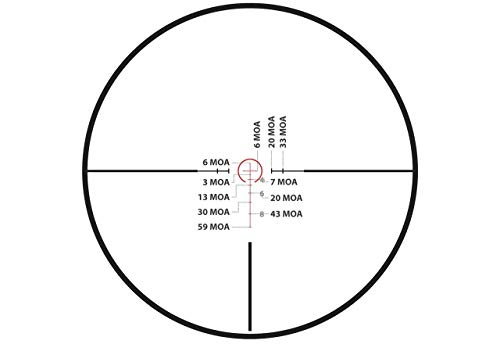 Monstrum Rifle Scope 4 Monstrum G2 1-6x24 First Focal Plane FFP Rifle Scope | ZR300 H-Series Offset Scope Mount | Bundle