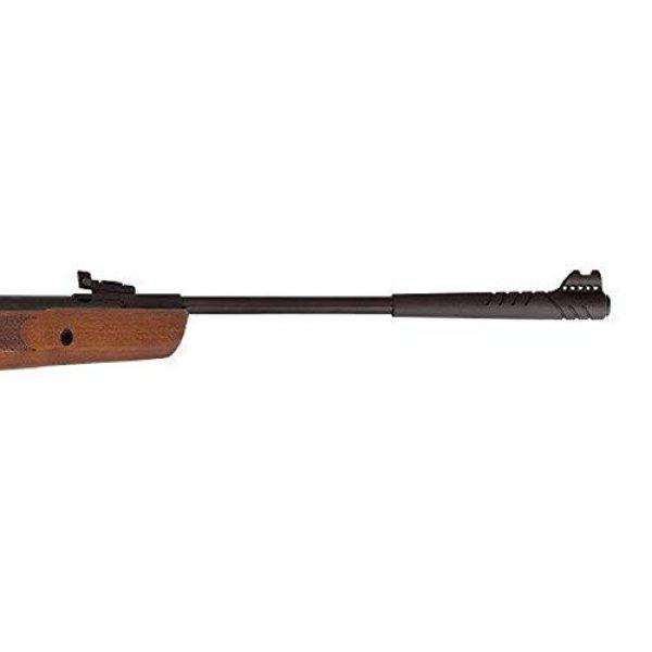 Hatsan Air Rifle 2 Hatsan Striker Wood Combo .25cal Airgun, Hardwood, Black