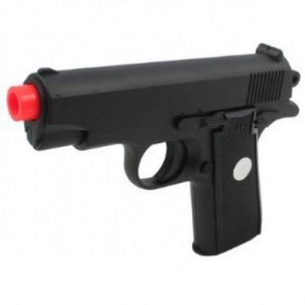 GALAXY Airsoft Pistol 5 GALAXY G2 Officer Metal Spring Compact Airsoft Pistol Hand Gun w/ 6mm BB BBS