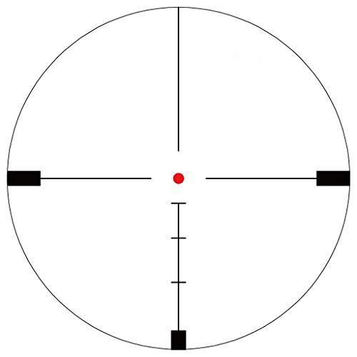 Vector Optics Rifle Scope 4 Vector Optics Hugo 6-24x50 Second Focal Plane (SFP) Riflescope with Illuminated Center Dot BDC Reticle, 25.4mm Tube, 1/4 MOA Per Adjustment, Turret Lock System, Free Mount Rings, Lens Caps, Sunshade