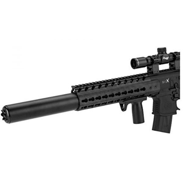 Sig Sauer Air Rifle 2 Sig Sauer MCX .177 Cal CO2 Powered 1-4x24mm Scope Air Rifle (30 Rounds), Black, one size