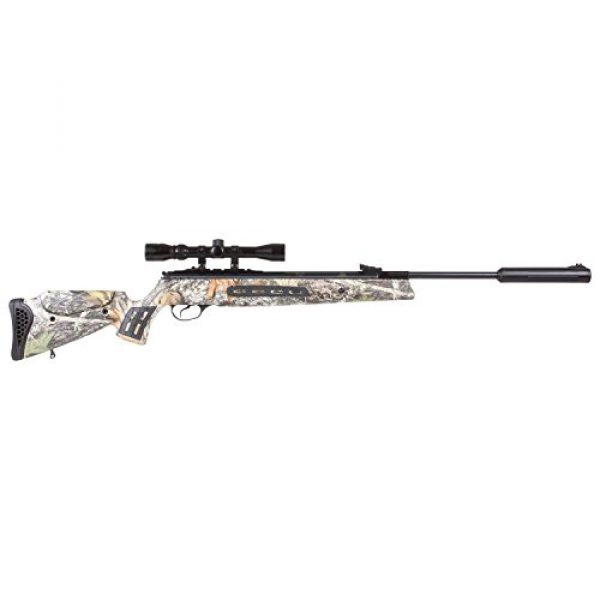 Hatsan Air Rifle 1 Hatsan Model 125SN Camo Vortex QE Combo .177 Airgun, Mossy Oak Breakup