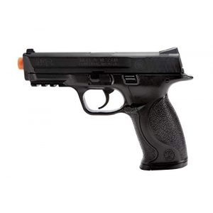 Elite Force Airsoft Pistol 1 Elite Force Smith & Wesson M&P 40 6mm BB Pistol Airsoft Gun, Standard Action, Black