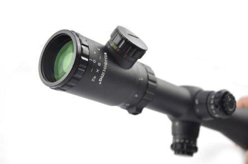 Visionking Rifle Scope 2 Visionking Rifle Scope 3-9x42 Turret Lock Mil-dot 30mm IR Hunting Rifle Scope Sight Color Black